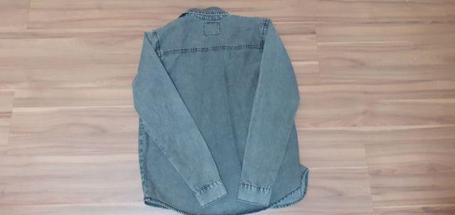 Camisao jeans infantil - tam 12 - Foto 2