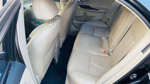 Corolla 2011/2012 cor preto perolizado - Foto 7