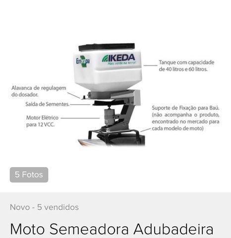 Moto semeadora Ikeda MS-40 - Foto 2