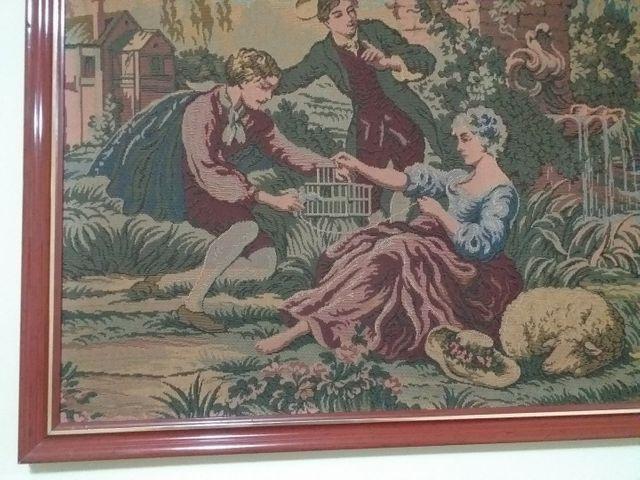 Quadro em tapeçaria GOBELIN - Foto 2
