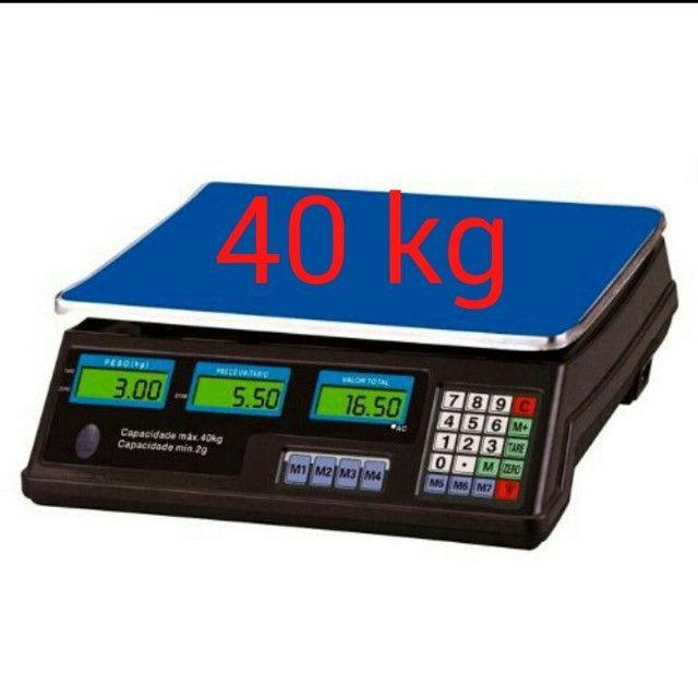 Balança Eletrônica Digital 40kg Alta Precisão C/bateria - Foto 5