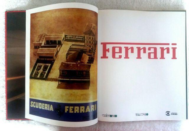 Ferrari (Livro 1998) + bandeiras - para colecionador e amante da marca - Foto 3