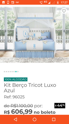 Kit berço luxo - Foto 2