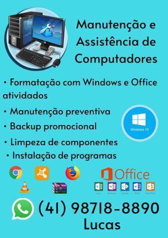 Assistência e Manutenção de Computadores