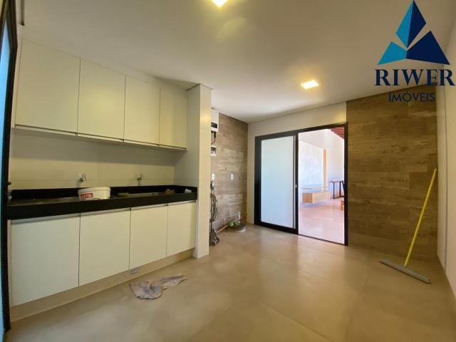 Luxo! Casa perfeita e mobiliada em Vicente Pires! 4 suites, revestimentos e materiais de p - Foto 15