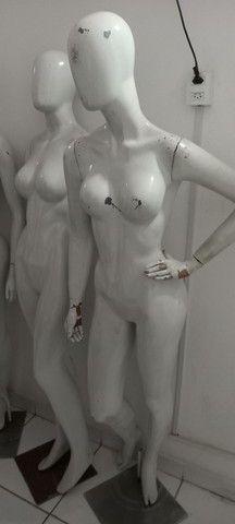 Manequins feminino e masculino  - Foto 4