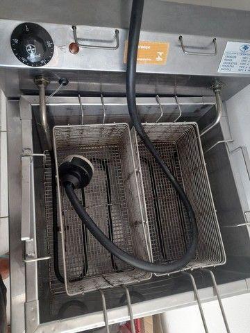Fritador Elétrico Agua e Oleo