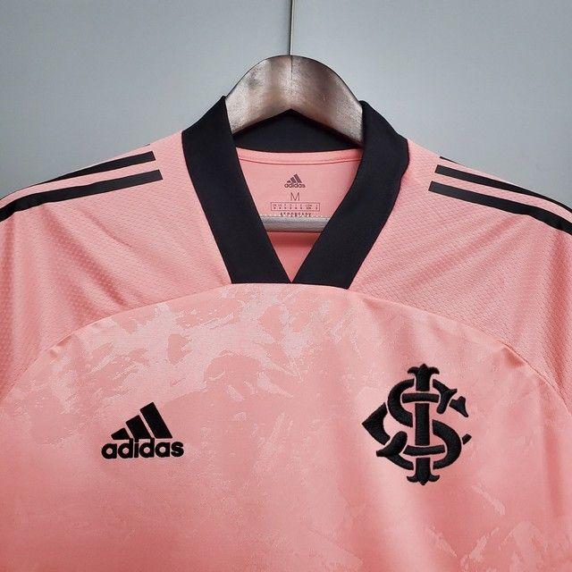 Camisa International Rosa Masculina - Foto 2