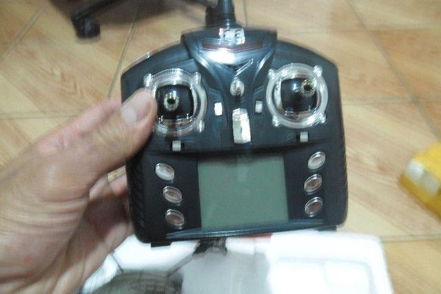 Drone + quatro baterias e assessórios - Foto 4