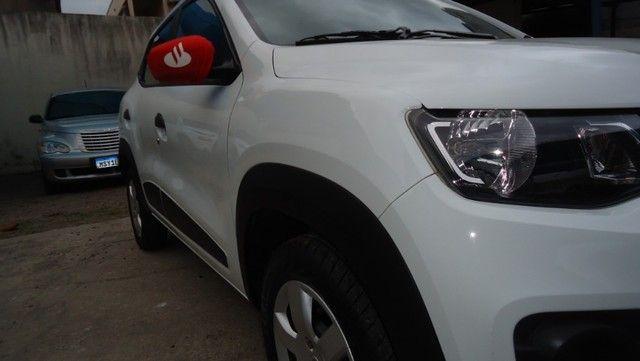 Renault Kwid Zen 2018 Segundo Dono Com Todas Revisões Feitas - Foto 8