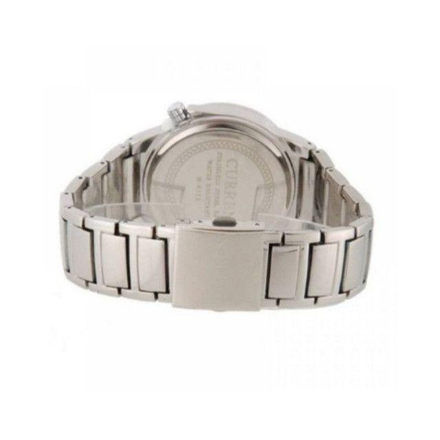 Relógios Curren 8111 Branco e Preto Resistente á água Analógico - Foto 3