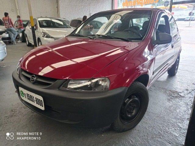 Celta 1.0 Gasolina 2 Portas 2003 /2003 Vermelha Veja !! - Foto 6