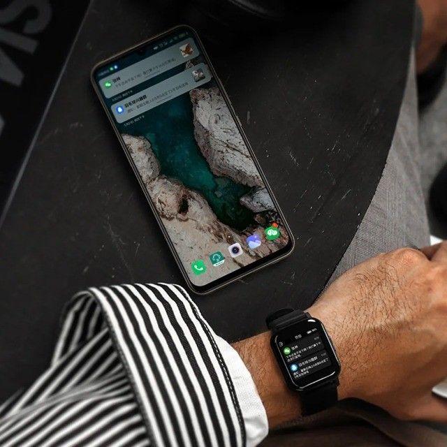 Smartwatch Haylou Smart Watch LS02 - Loja Natan Abreu  - Foto 4
