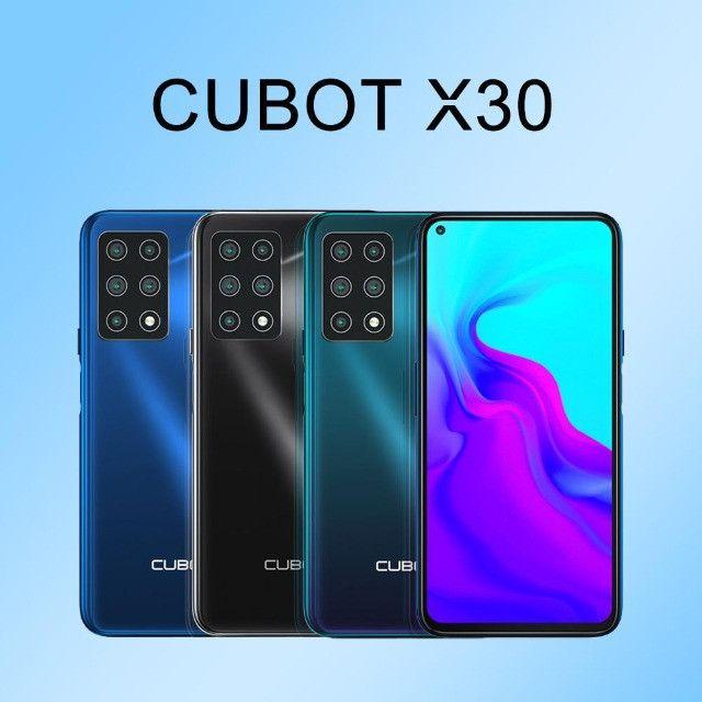 """Cubot X30 128GB/256GB 6.4""""   48MP Camera Selfie"""