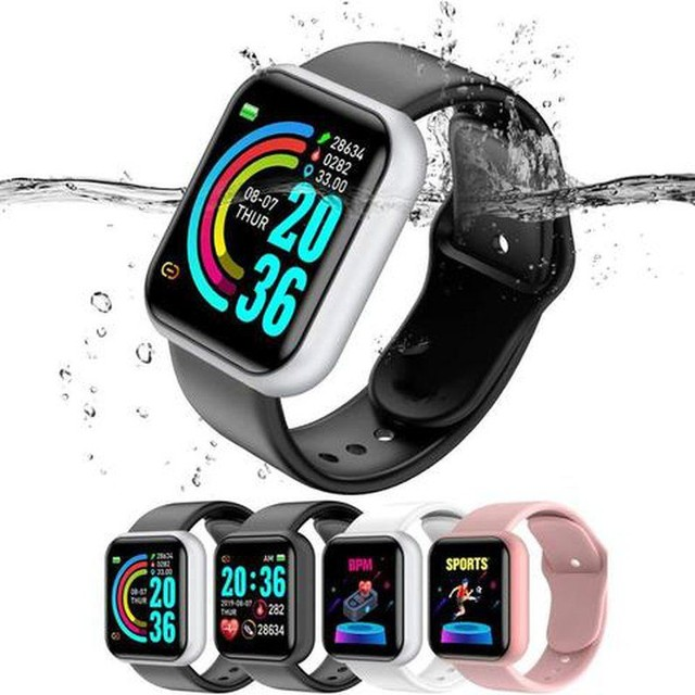 Promoção Dia Dos Pais Lindos Relógios Digitais Smartwatch Vários Modelos - Foto 2