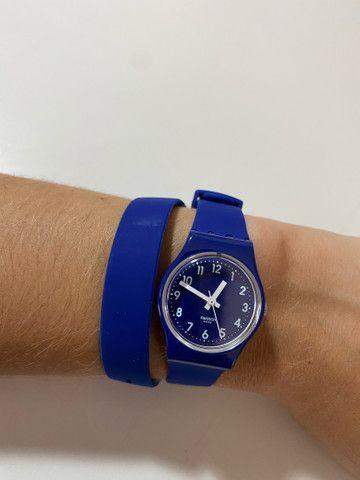 Relógio Suíço Swatch nunca usado duas voltas - Foto 5