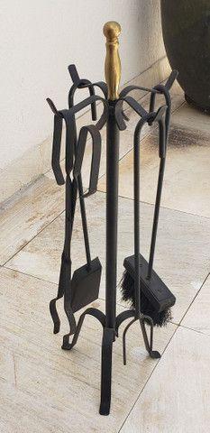 Acessórios para Lareira (Limpeza e proteção)  - Foto 3