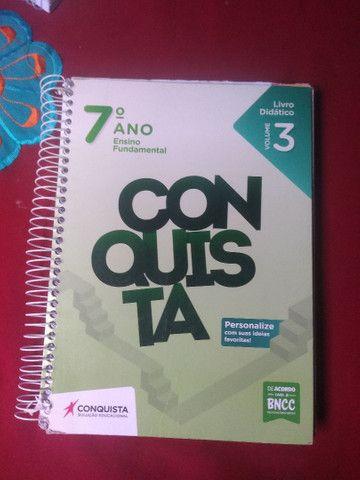 Livros Conquista 7° ano  - Foto 5