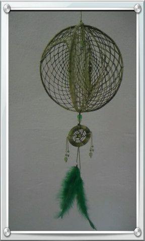 Artesanato: Móbile e Filtro dos Sonhos - Foto 6