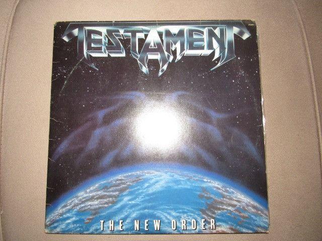 Oferta!! Lp Vinil Testament- The New Order-1988 - Foto 2