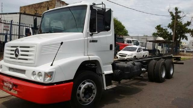 MB 1620 2004 TRUCK CHASSI IMPECÁVEL