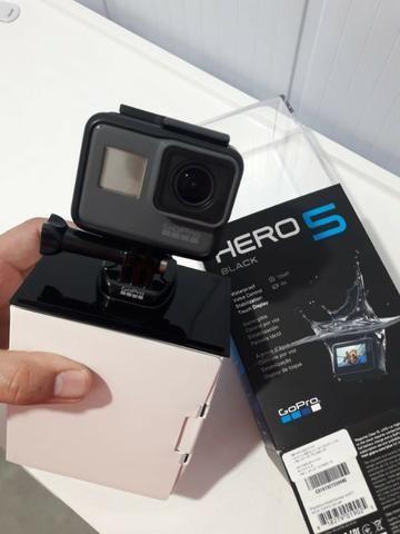 GoPro Hero 5 Black/ Aceito Cartão de crédito
