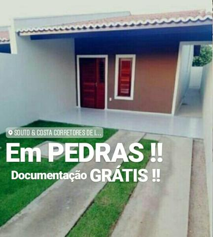 SAIA DO ALUGUEL !!! Casas próximo da Av Jorge Figueiredo Bairro Pedras ! 272771ab4c