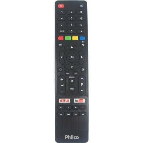Controle Remoto Smartv Philco Netflix Youtube Novo Original