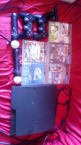 Vendo completo. com dois controles.kit move . jogos tudo original .