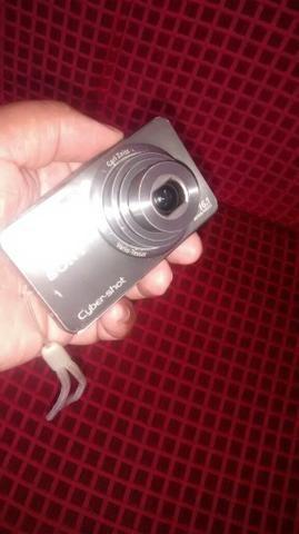 Câmera sony cyber-shot 16 mega pixels