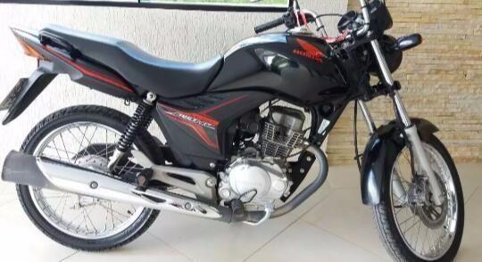 Honda Cg 150 Fan Preta