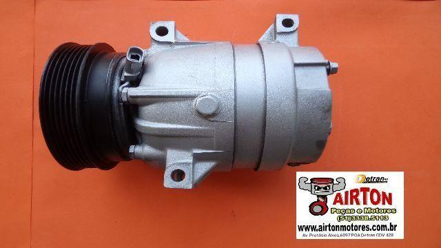 Compressor de ar-embreagem-volante-motor-cabeçote-virabrequim-coletor-eletroventilador-tbi
