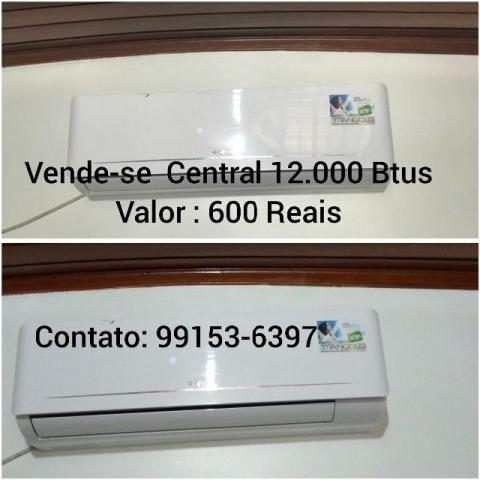 Central de ar 12.000 Btus