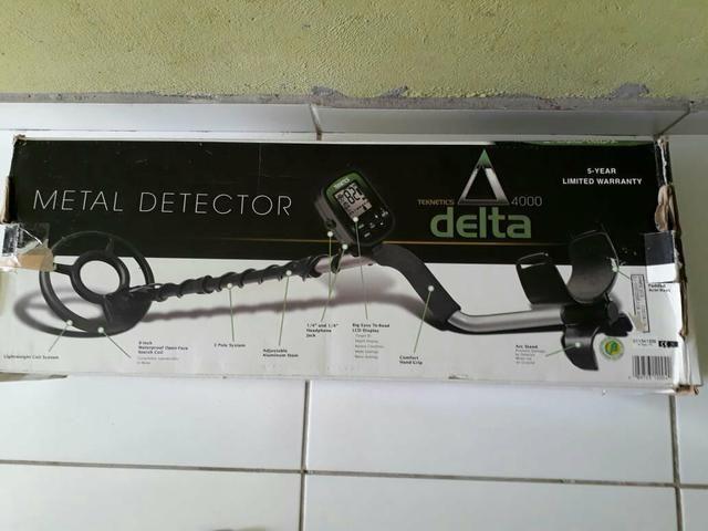 Detector de metal delta,praia
