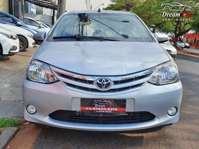 Toyota Etios Sedan 1.5 XLS Flex automático único dono 2017 - Foto 3
