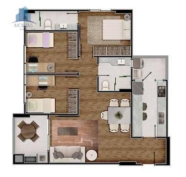 Apartamento residencial à venda, Alto da Rua XV, Curitiba. - Foto 7