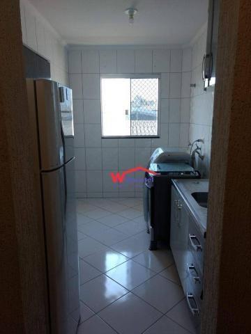 Apartamento com 2 dormitórios à venda, 57 m² por r$ 250.000 - rua vinte e cinco de dezembr - Foto 7