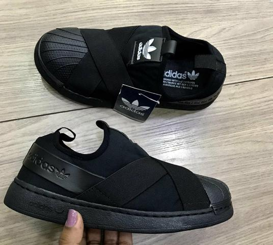 outlet store 4a562 d6b80 Tênis Adidas Slip On preto