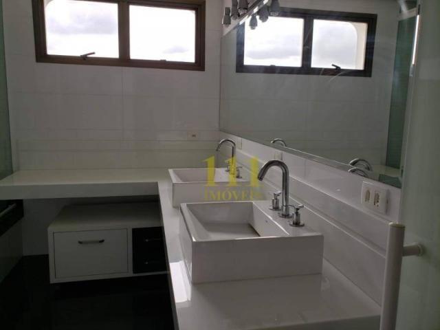 Cobertura com 5 dormitórios à venda, 628 m² por r$ 1.800.000 - vila ema - são josé dos cam - Foto 16