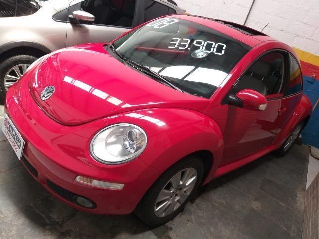 VW-Volkswagen New Beetle 2.0 2008 Completo - Foto 2