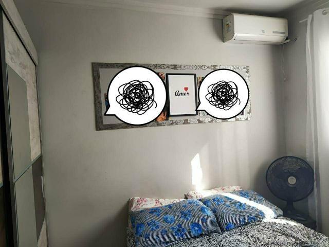 Vendo lindo apartamento semi mobiliado