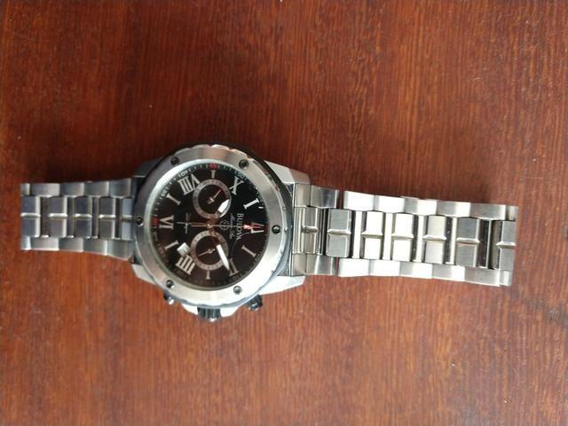 67c0cb4408e Relógio Bulova Original!!!vdo trc - Bijouterias
