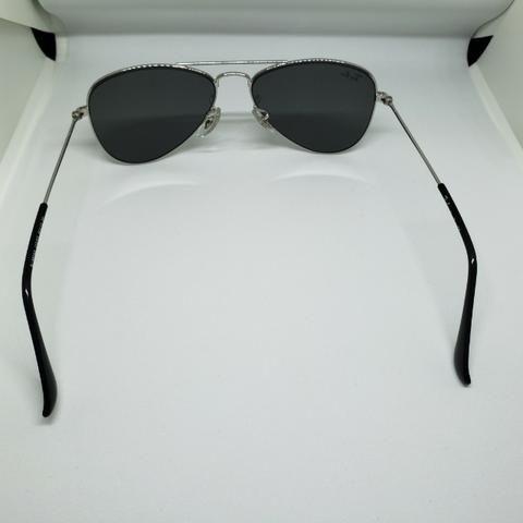 80d31b3153842 Óculos Ray-Ban Rayban aviador espelhado infantil com pequenos arranhões  Original em JP