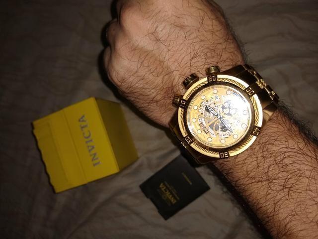 37e009523d4 Relógio invcta Zeus Esqueleto - Bijouterias