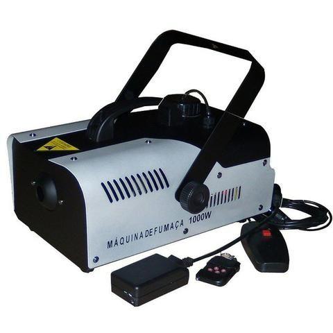 Super Maquina Fumaça 1000w 110v Dj Compativel Mesa Dmx Dj Ydtech-SKU: 80145 - Foto 4