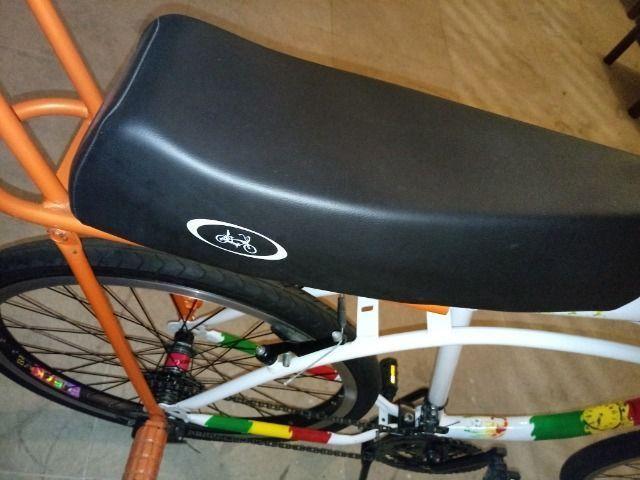 Bicicleta caiçara nova - Foto 6