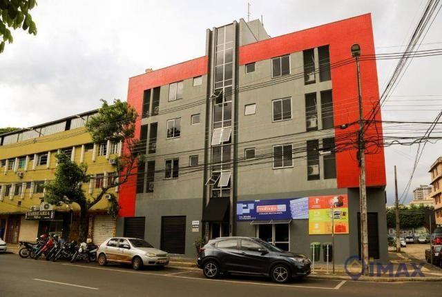 Apartamento com 1 dormitório para alugar, 45 m² por R$ 1.500,00/mês - Centro - Foz do Igua - Foto 19