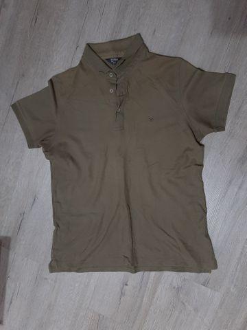 2 camisas polo G (azul marinho e verde) - Foto 2