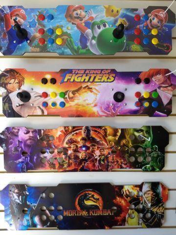 Fliperama arcade portátil c/ 14 mil jogos{{loja física a mais de 15 anos}}
