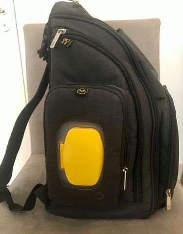 Mochila Multifuncional Back Pack Safety 1st - Ótimo estado - Foto 3
